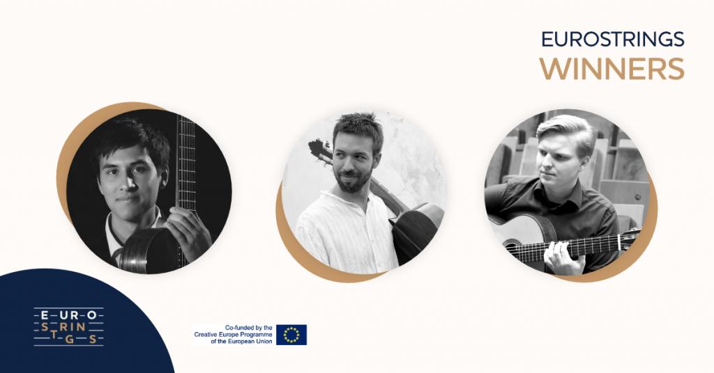 EuroStrings Winners - Jesse Flowers, Nicolas Kahn and Mateusz Kowalski Facebook