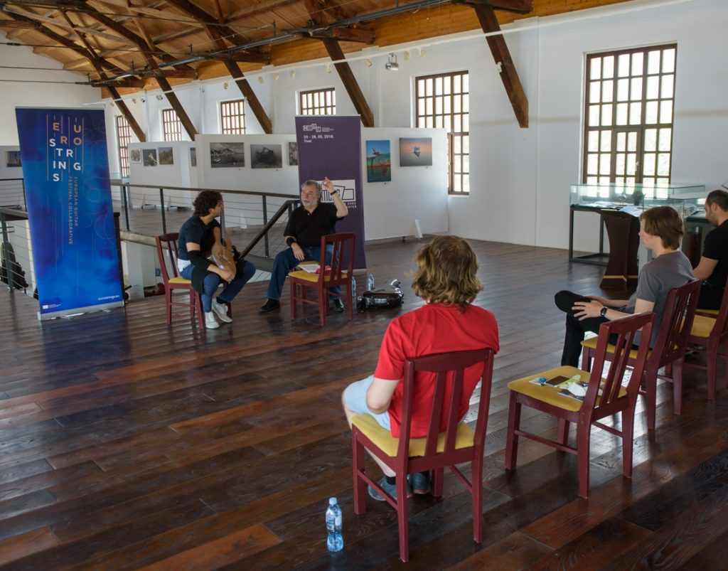 Montenegro International Guitar Competition - Masterclass of YS with M. Barrueco