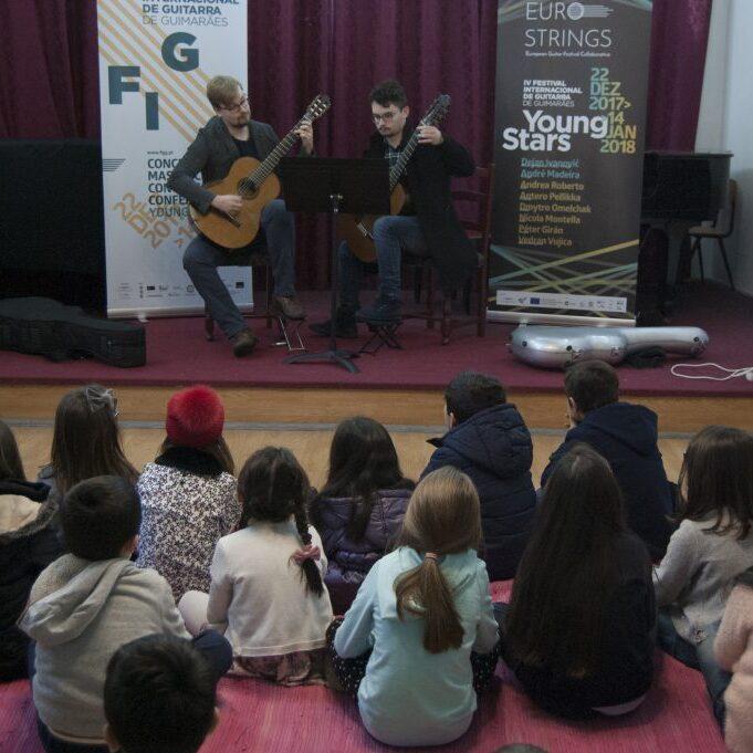 Educational concerts at Guimaraes Guitar Festival