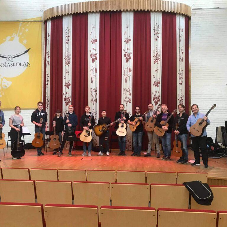 Interactive concert and talks at Uppsala Guitar Festival 2020